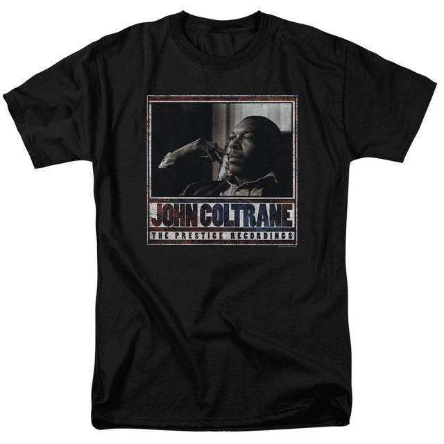 John Coltrane Shirt | PRESTIGE RECORDINGS T Shirt
