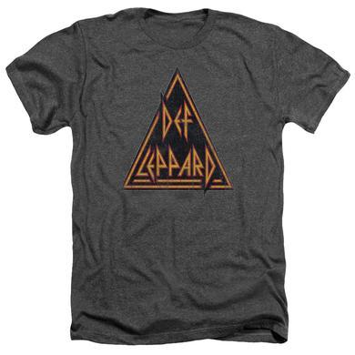 Def Leppard Tee | DISTRESSED LOGO Premium T Shirt