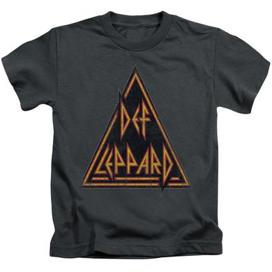 Def Leppard Kids T Shirt | DISTRESSED LOGO Kids Tee