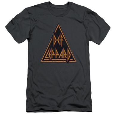 Def Leppard Slim-Fit Shirt | DISTRESSED LOGO Slim-Fit Tee