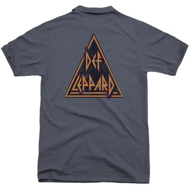 Def Leppard DISTRESSED LOGO (BACK PRINT)