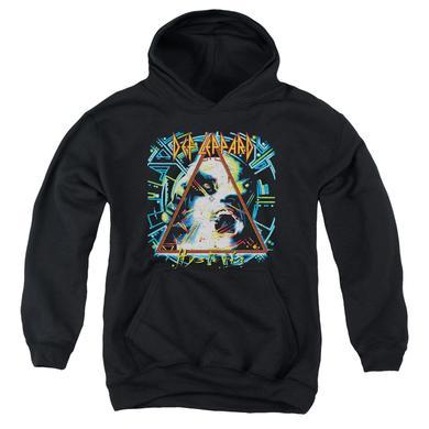 Def Leppard Youth Hoodie | HYSTERIA Pull-Over Sweatshirt