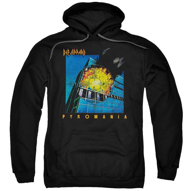Def Leppard Hoodie | PYROMANIA Pull-Over Sweatshirt