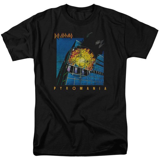 Def Leppard Shirt | PYROMANIA T Shirt