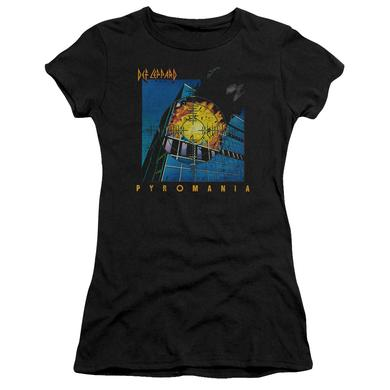Def Leppard Juniors Shirt | PYROMANIA Juniors T Shirt