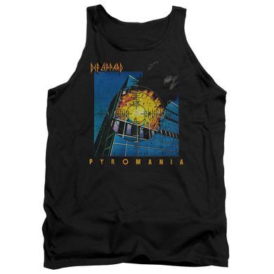 Def Leppard Tank Top | PYROMANIA Sleeveless Shirt