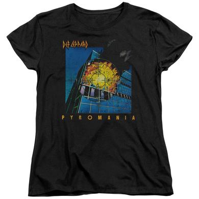 Def Leppard Women's Shirt | PYROMANIA Ladies Tee