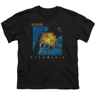 Def Leppard Youth Tee | PYROMANIA Youth T Shirt