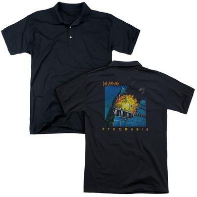 Def Leppard PYROMANIA (BACK PRINT)
