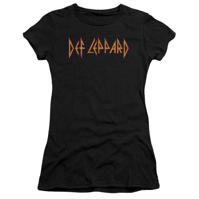 Def Leppard Juniors Shirt | HORIZONTAL LOGO Juniors T Shirt