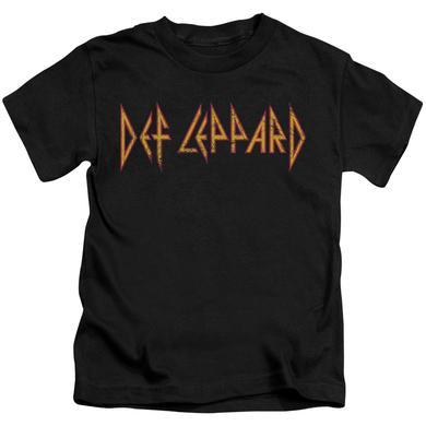 Def Leppard Kids T Shirt   HORIZONTAL LOGO Kids Tee
