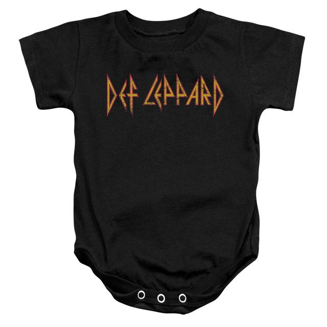 Def Leppard Baby Onesie | HORIZONTAL LOGO Infant Snapsuit