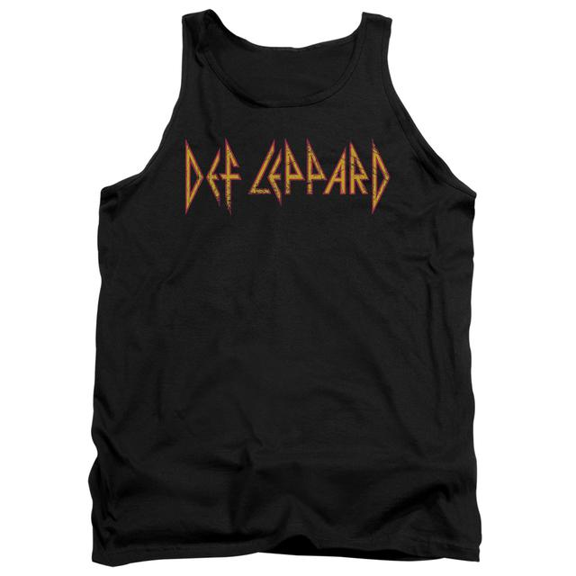 Def Leppard Tank Top | HORIZONTAL LOGO Sleeveless Shirt
