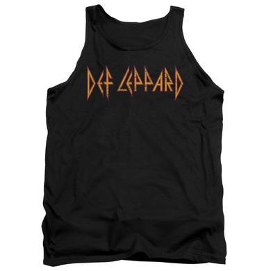 Def Leppard Tank Top | HORIZONTAL LOGO Sleeveless Shirt