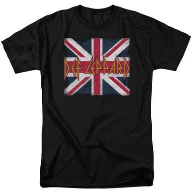 Def Leppard Shirt | UNION JACK T Shirt