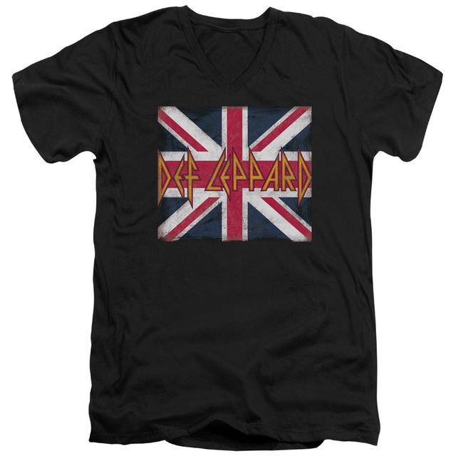 Def Leppard T Shirt (Slim Fit) | UNION JACK Slim-fit Tee