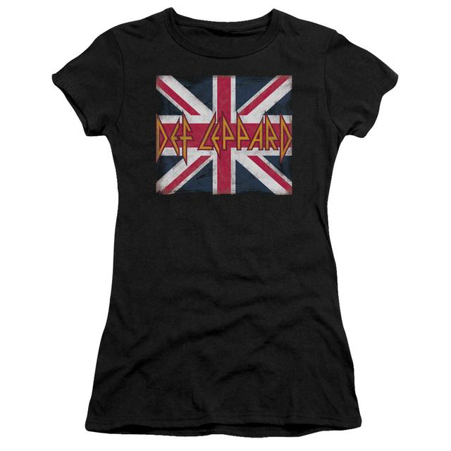Def Leppard Juniors Shirt | UNION JACK Juniors T Shirt