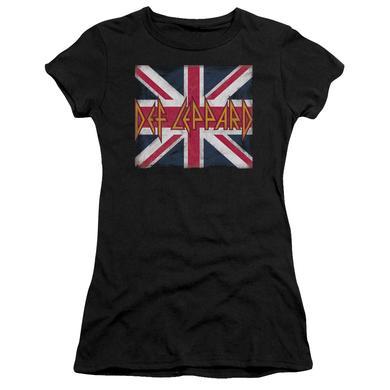 Def Leppard Juniors Shirt   UNION JACK Juniors T Shirt