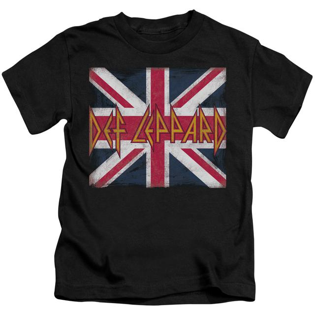 Def Leppard Kids T Shirt | UNION JACK Kids Tee