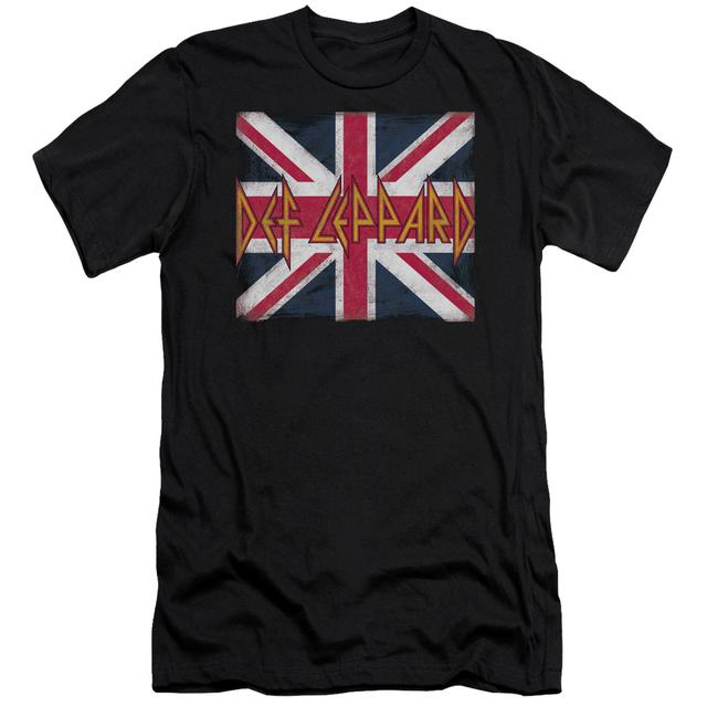 Def Leppard Slim-Fit Shirt | UNION JACK Slim-Fit Tee