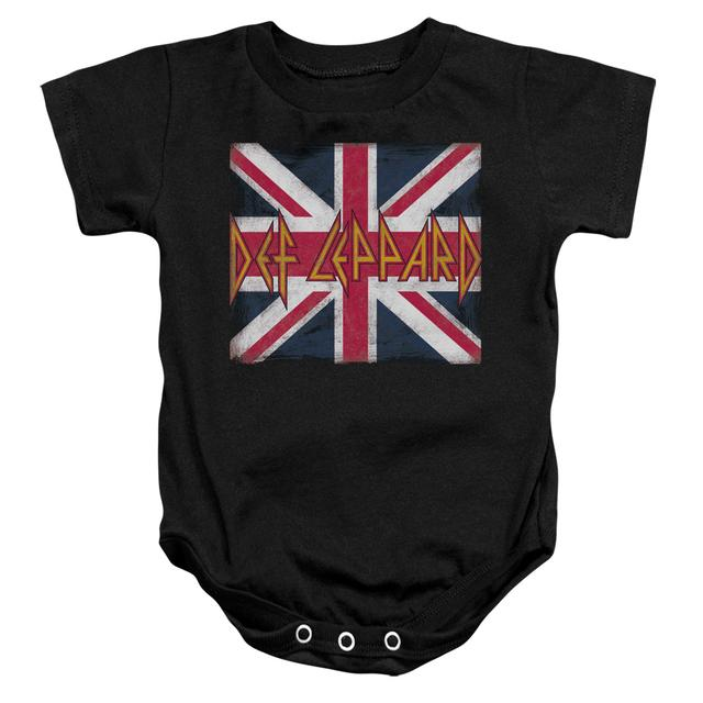 Def Leppard Baby Onesie | UNION JACK Infant Snapsuit