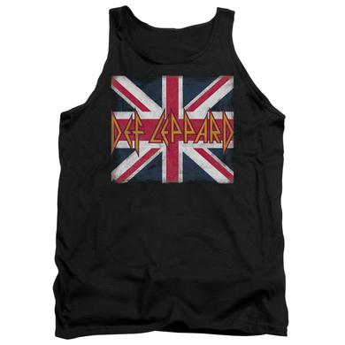 Def Leppard Tank Top   UNION JACK Sleeveless Shirt