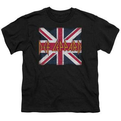 Def Leppard Youth Tee | UNION JACK Youth T Shirt