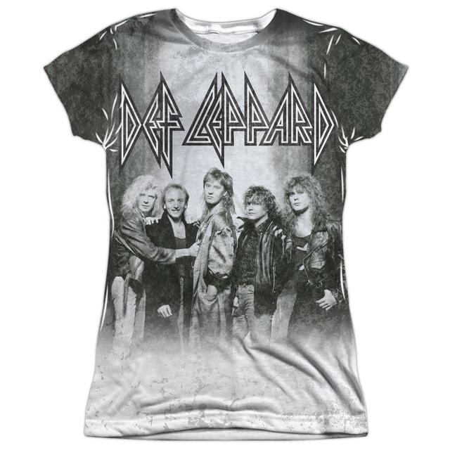 Def Leppard Junior's T Shirt | THE BAND Sublimated Tee