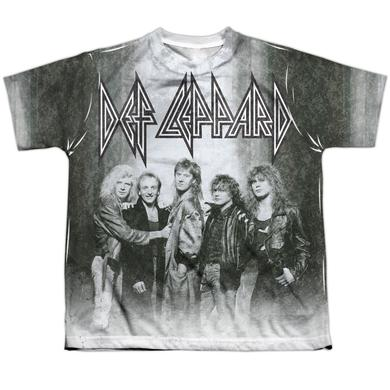 Def Leppard Youth Shirt | THE BAND Sublimated Tee