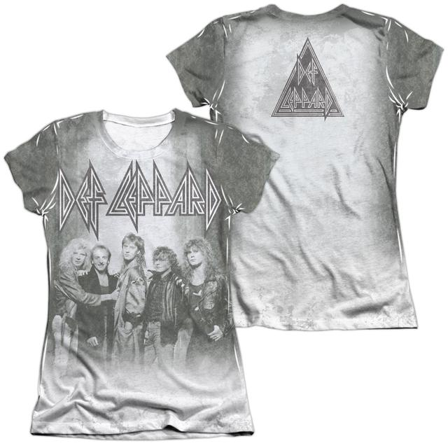 Def Leppard Junior's Shirt | THE BAND (FRONT/BACK PRINT) Junior's Tee