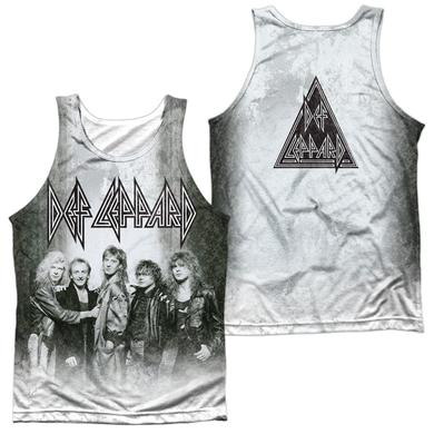Def Leppard THE BAND (FRONT/BACK PRINT)