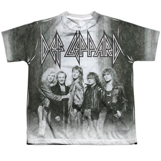 Def Leppard Youth Shirt | THE BAND (FRONT/BACK PRINT) Sublimated Tee
