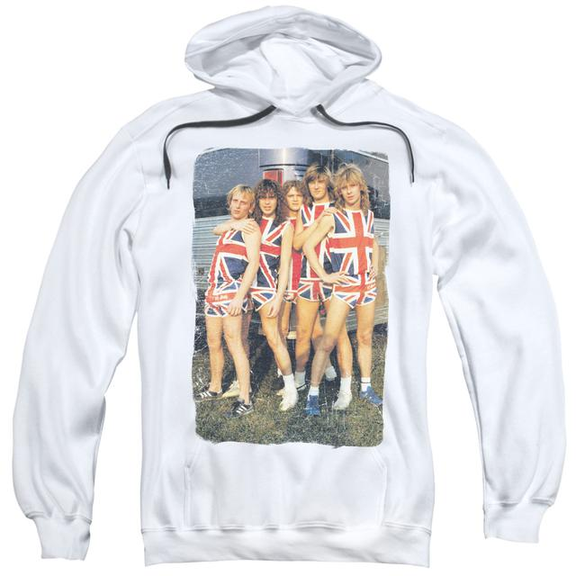 Def Leppard Hoodie | FLAG PHOTO Pull-Over Sweatshirt