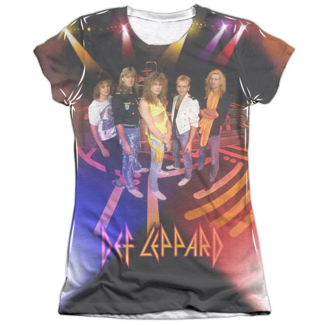 Def Leppard Junior's Shirt   ON STAGE Junior's Tee