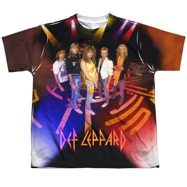 Def Leppard Youth Shirt | ON STAGE Sublimated Tee