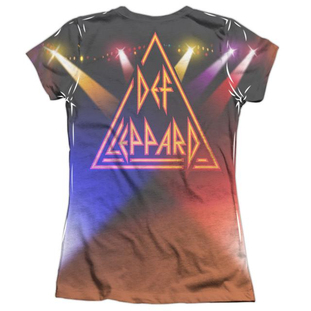 Def Leppard Junior's Shirt | ON STAGE (FRONT/BACK PRINT) Junior's Tee