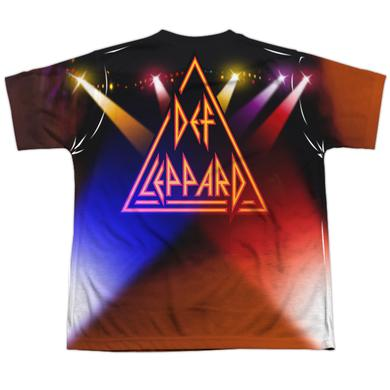 Def Leppard Youth Shirt | ON STAGE (FRONT/BACK PRINT) Sublimated Tee
