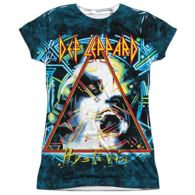 Def Leppard Junior's T Shirt | HYSTERIA Sublimated Tee