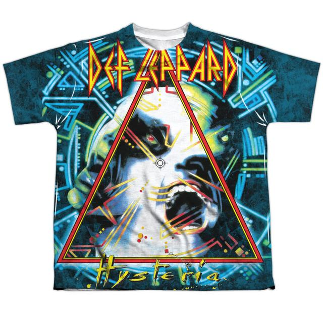 Def Leppard Youth Shirt | HYSTERIA Sublimated Tee
