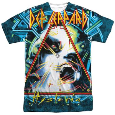 Def Leppard Shirt | HYSTERIA (FRONT/BACK PRINT) Tee