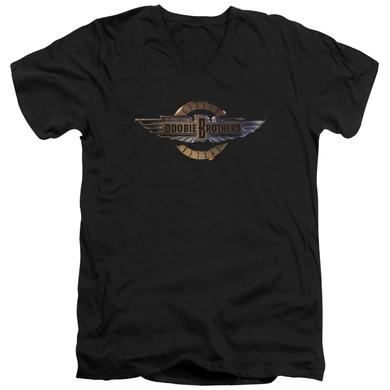 Doobie Brothers T Shirt (Slim Fit) | BIKER LOGO Slim-fit Tee