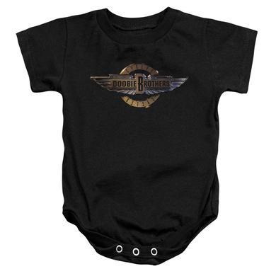 Doobie Brothers Baby Onesie | BIKER LOGO Infant Snapsuit