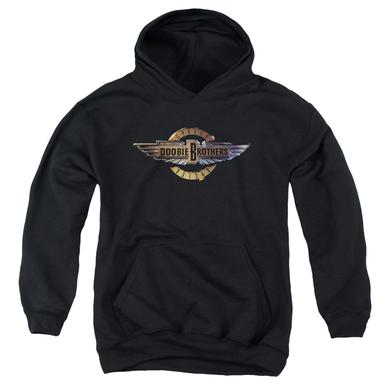 Doobie Brothers Youth Hoodie | BIKER LOGO Pull-Over Sweatshirt