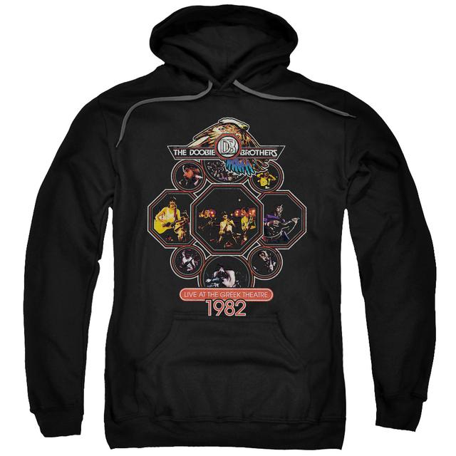 Doobie Brothers Hoodie | LIVE GREEK Pull-Over Sweatshirt