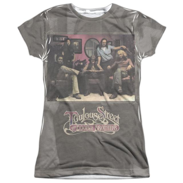 Doobie Brothers Junior's T Shirt | TOULOUSE STREET (FRONT/BACK PRINT) Sublimated Tee