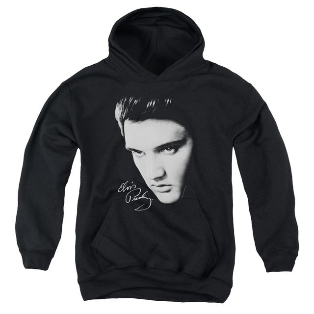 Elvis Presley Youth Hoodie | FACE Pull-Over Sweatshirt