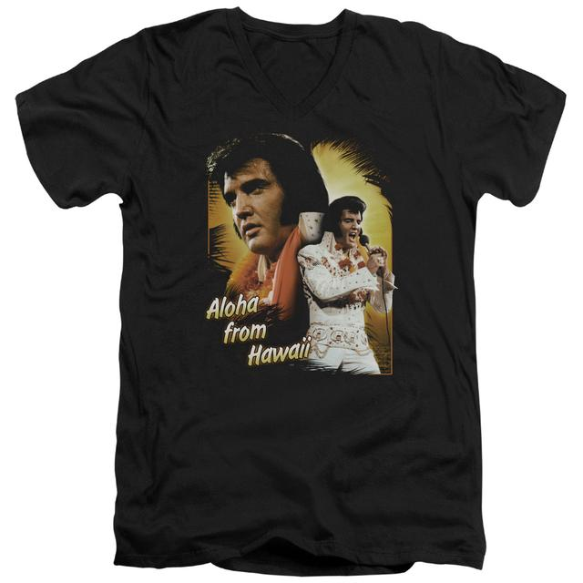 Elvis Presley T Shirt (Slim Fit) | ALOHA Slim-fit Tee
