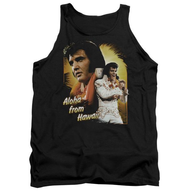Elvis Presley Tank Top   ALOHA Sleeveless Shirt