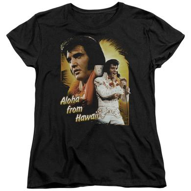 Elvis Presley Women's Shirt | ALOHA Ladies Tee