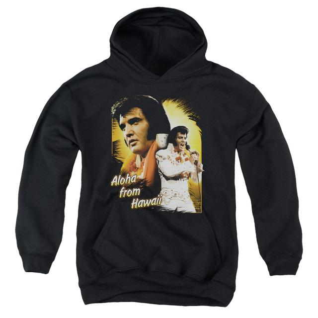 Elvis Presley Youth Hoodie | ALOHA Pull-Over Sweatshirt